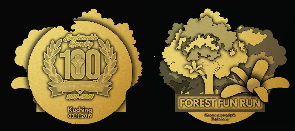 Medal for Kuching event